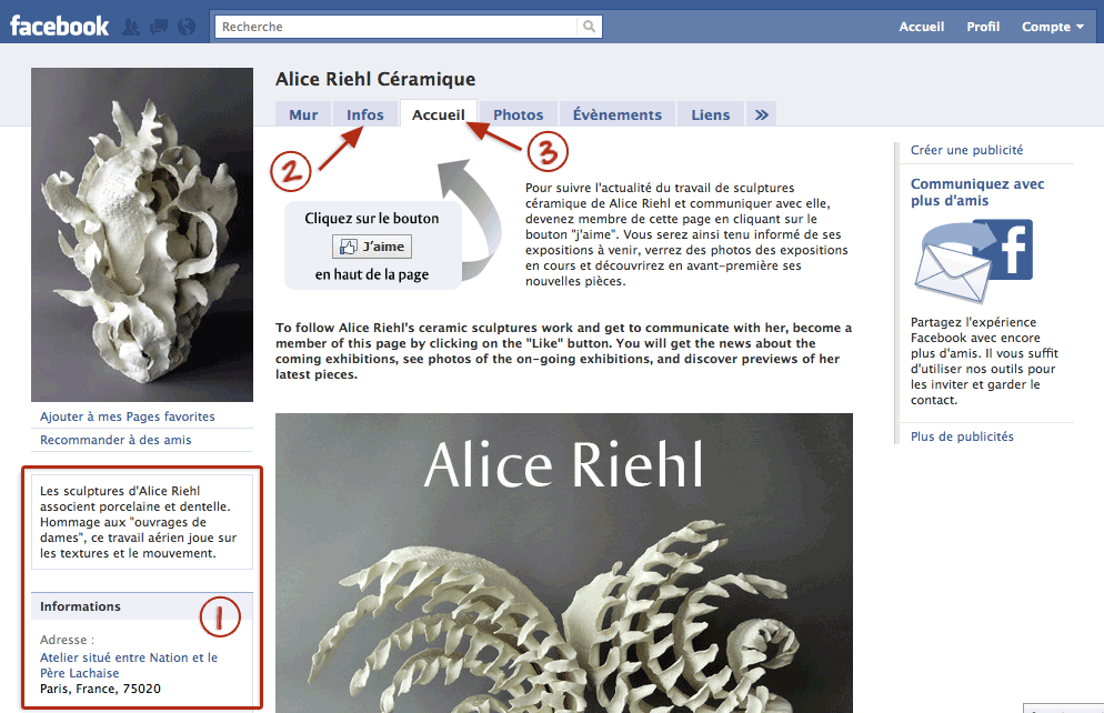 page pro, Alice Riehl