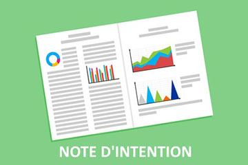 Conseils note d'intention
